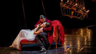 Fotografie z opery Giuseppe Verdi - La Traviata