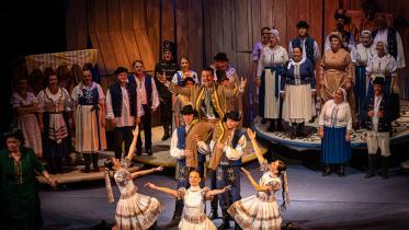 Útržky z operety Gejza Dusík - Hrnčiarsky bál (27.6.2020) Foto: Zdenko Hanout