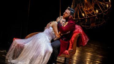 Útržky z opery Giuseppe Verdi - La Traviata (23.6.2021) Foto: Zdenko Hanout