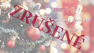 Vianočný koncert je zrušený